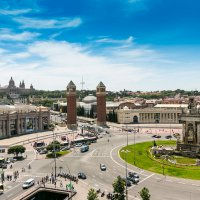 Plaça d'Espanya :: Дмитрий Карышев