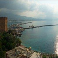 Турция. Аланья. Вид на Средиземное море. :: Юрий Дегтярёв