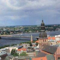 Вид на Ригу с Собора Святого Петра :: Борис Гребенщиков