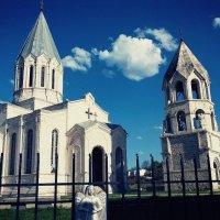 Армения,г. Шуша Армянская церковь Казанчецоц :: Инна Аршакян