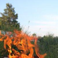 танец огня :: Надежда Махотина