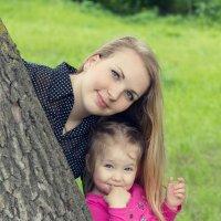 Две сестрички :: Алёна Мамот