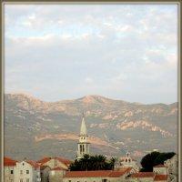 Черногория. Будва. Вид на старый город. :: Люда Валяшки