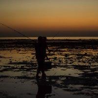 Катар, рассвет, рыбаки... :: Татьяна Жуковская