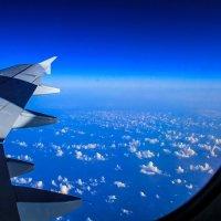 Полеты....самолеты....над облаками :: Nataliya Oleinik