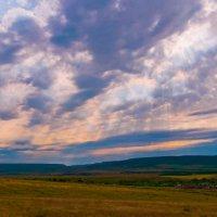 Закат в поле :: Алексей Романенко