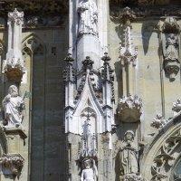 Регенсбургский собор (фрагмент фасада) :: Игорь Липинский