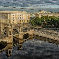 Мост Ломоносова (вид сверху) :: Владимир Горубин