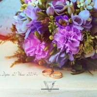 Букет невесты Дарьи :: Евгения Саталкина