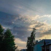 лучи сквозь облака :: Мария Паздникова