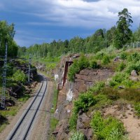 железная дорога у Выборга :: Сергей Базылев