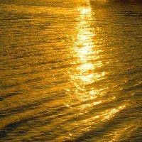 отражение солнечных лучей на речку... :: Татьяна Королёва