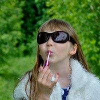 Девушка с обложки глянцевого журнала :: Светлана