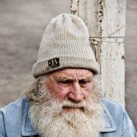 Этот дедушка - садовод . :: Виктор