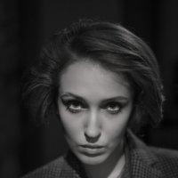 Портрет-стилизация под фильмы нуар :: Михаил Онипенко