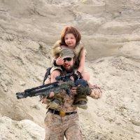 солдат и ребёнок :: Светлана Каракулова
