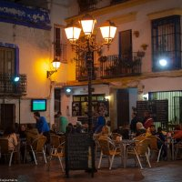 Ночь, улица ,фонарь, футбол... :: Дмитрий Садов