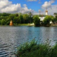 ...церковный остров на р. Южный Буг... :: Александр Садовский