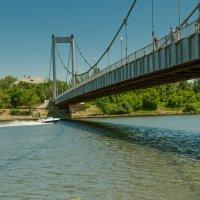 Подвесной мост :: Валерий Тахмазов