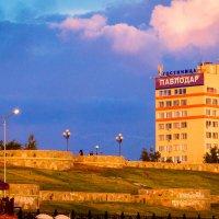 Вид на гостиницу Павлодар :: Даурен Ибагулов