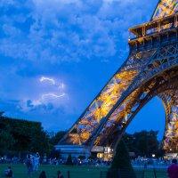 Гроза в Париже :: Olga Merlinge