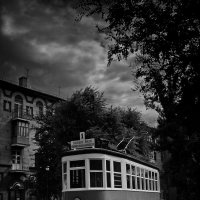 старый трамвай :: Дмитрий Барабанщиков