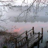 Тихий вечер на озере Горнем. :: Екатерина Артамонова