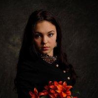 портрет с лилиями. :: Олег Белоус