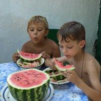 Угощение от бабушки :: Анатолий Ежак