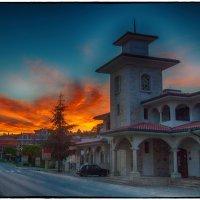 Закат в Святой Елене :: Leo Alex Photographer