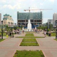Сквер Ермакова :: Дмитрий Арсеньев