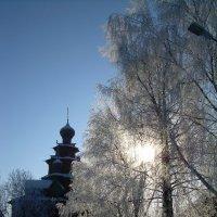 Музей Деревянного зодчества г Суздаль Зима :: Олег Романенко