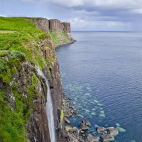 Kilt Rock Waterfall :: Uno Bica