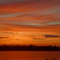 Полосатый закат. :: Чария Зоя