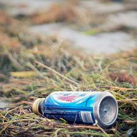 банка пива на пляжу..) :: Vok .