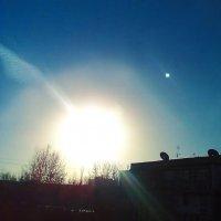 Зимнее солнце :: Мухаббат Юлдашева