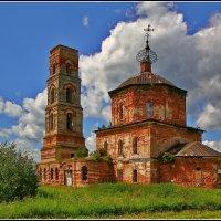 Церковь Успения Пресвятой Богородицы в Пушкино, 1793 :: Дмитрий Анцыферов