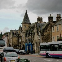 Хмурое небо над улицами Эдинбурга,Шотландия :: Николай Фарионов
