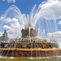фонтан Каменный цветок :: Августа