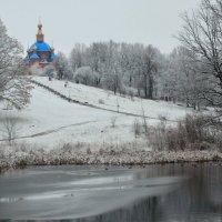 Зима в парке Дубового. Первый снег. :: Владимир Уваров