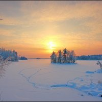 Зимний вечер :: ALexey Sol