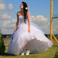 Спортивная невеста :: Магдалина Терещенко