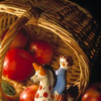 Ванька в яблоках :: Сергей Мартьяхин