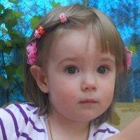 Моя внучка Викуля :: Светлана Кимовна Дробышева