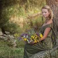 лесная фея :: Julia Nikitina