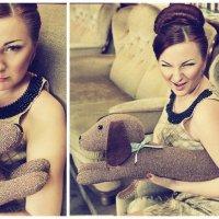 дама с собачкой )) :: Светлана Лысцева