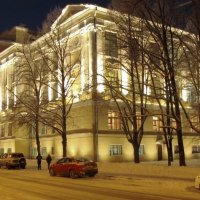 Здание Царскосельской женской Гимназии :: Олег Попков