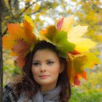 девушка осень :: Камозина Валерия