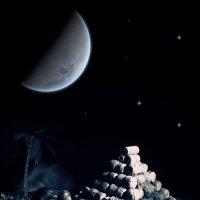Ночь в африке :: Владимир Ноздрачев