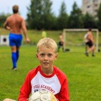 На футболе :: Наталья Петрова
